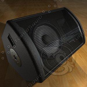 stage monitor - speaker 3d model