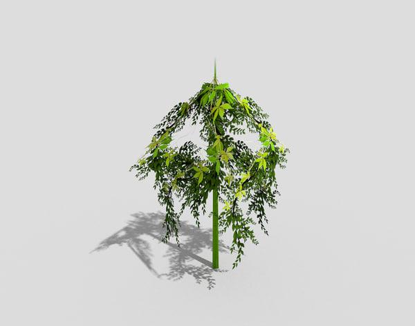 tree landscape 3ds