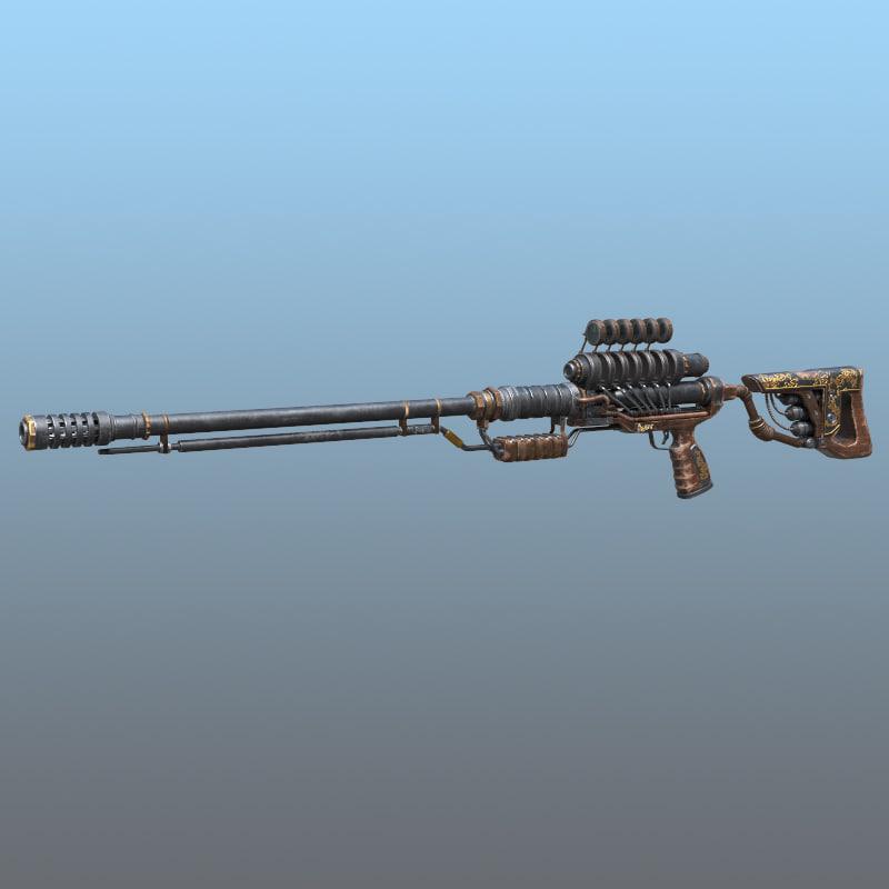 steampunk rifle max