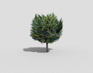 3d model tree landscape