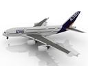 airbus a380-900 3D models