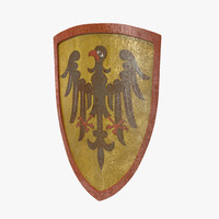 european shield imperial coat 3d model