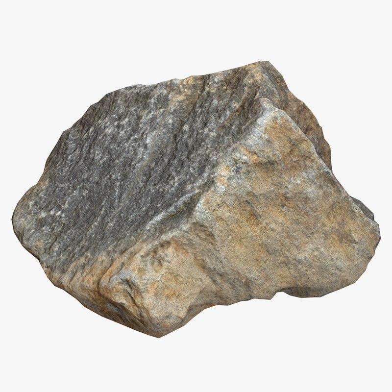 3d model of stone