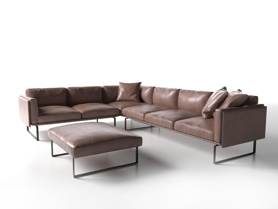 202 otto sofa 3d model