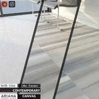 tile ariana canvas set 3d model