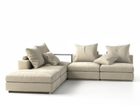 3d groundpiece sofa