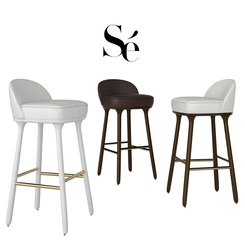 bar chairs se collections 3d max