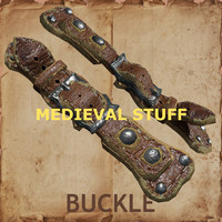 3d accessory medieval armor