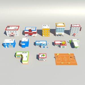 build pack 3d model