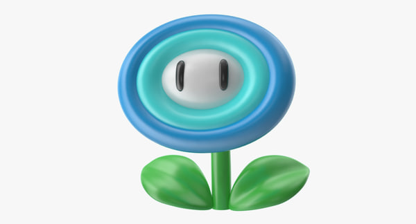 super mario ice flower max