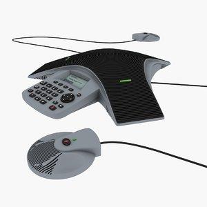 3d obj teleconference soundstation