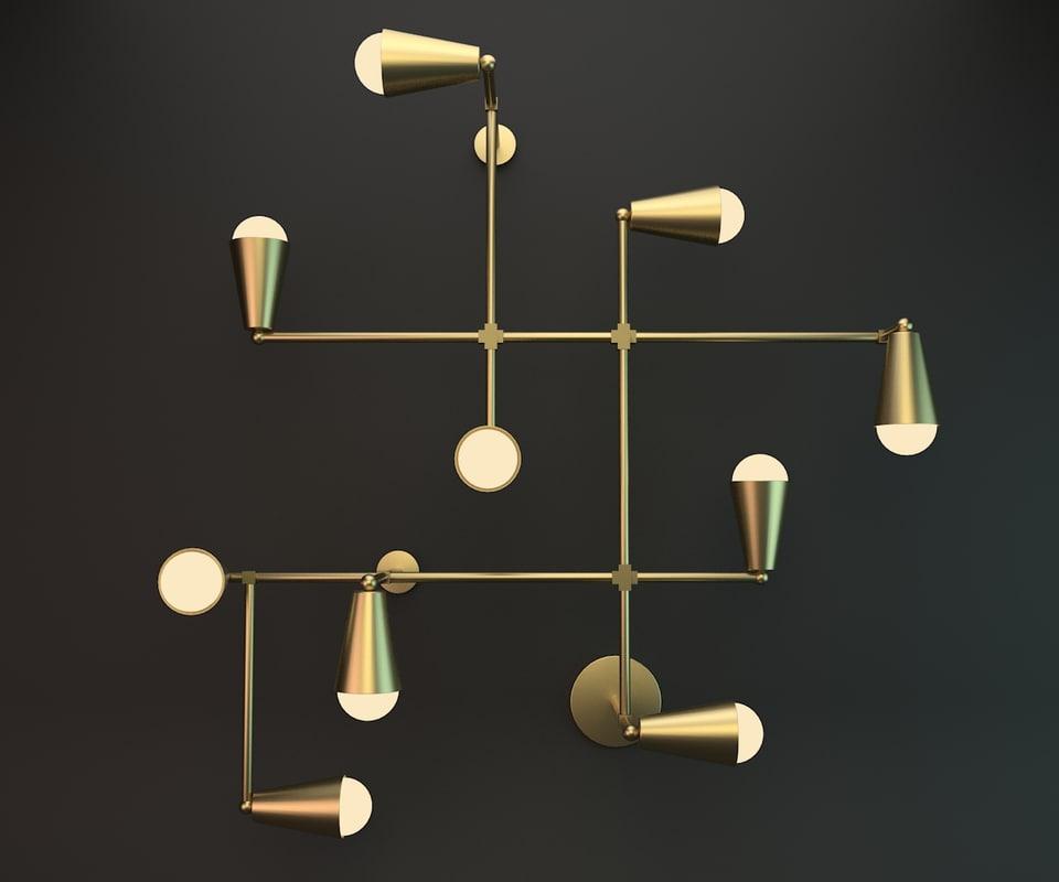 wall lamp zig-zag max
