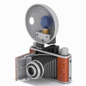 obj camera toon vintage