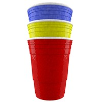 3d model solo cup color