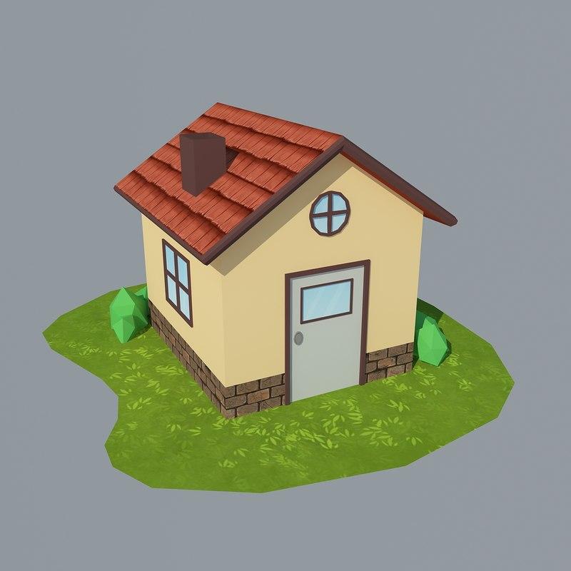 cartoon house 2 max