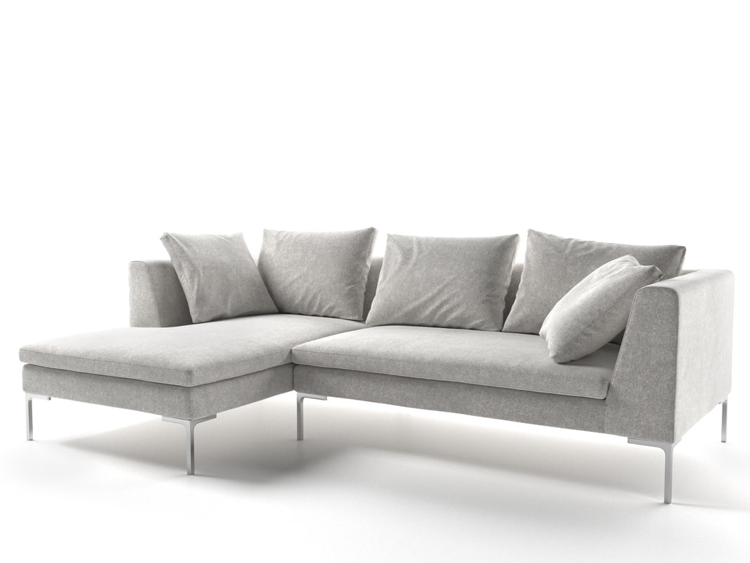 3d Charles Sofa Model
