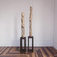 Dayak Effigies statue