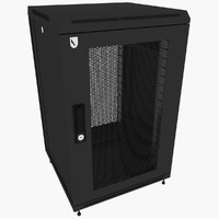 rack enclosure 3d max