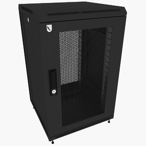 3d rack enclosure model