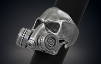Skull Ring Gas Mask Respirator