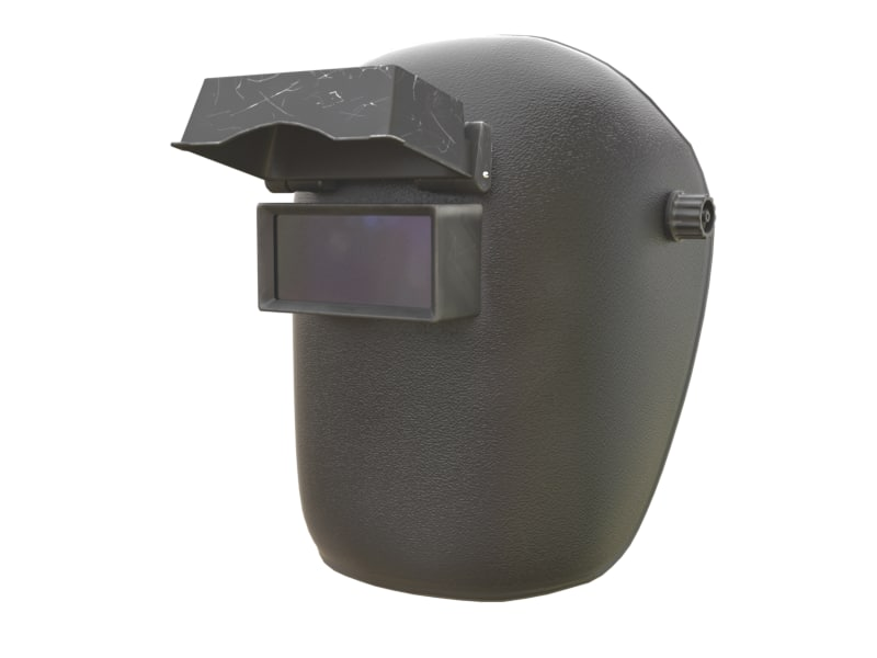 3d model of welding mask
