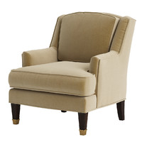 Baker Juliette Loose Back Chair
