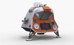space pod lost 3d max