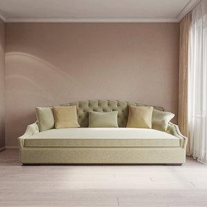 3d model kensington sofa sf6166 edward