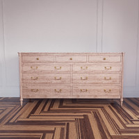 left blank drawer dresser 3d model