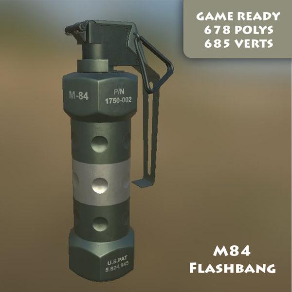 ready m84 stun grenade max