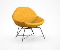 Saporiti Lounge Chair by Augusto Bozzi