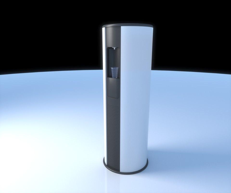 3d water cooler dispenser