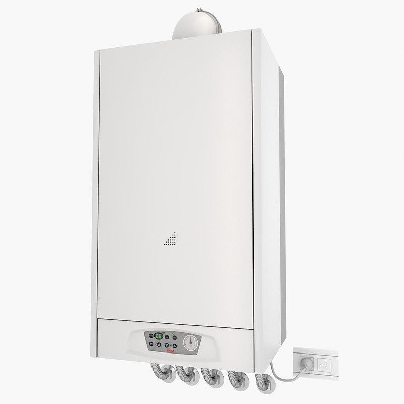 dual boiler 3d max
