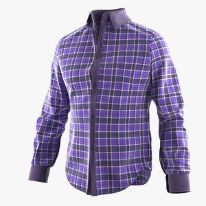 plaid shirt 3ds