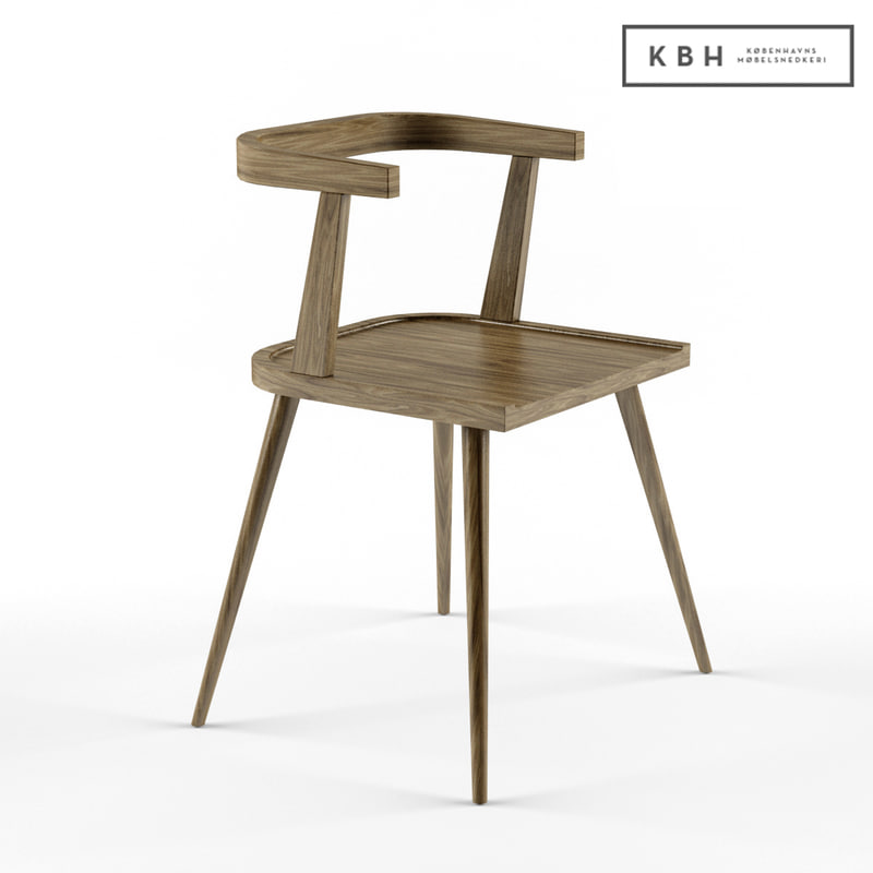 kbh chair 3d 3ds