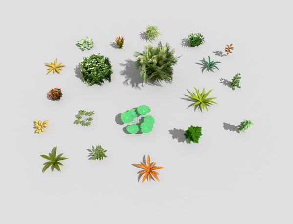 plants 3ds