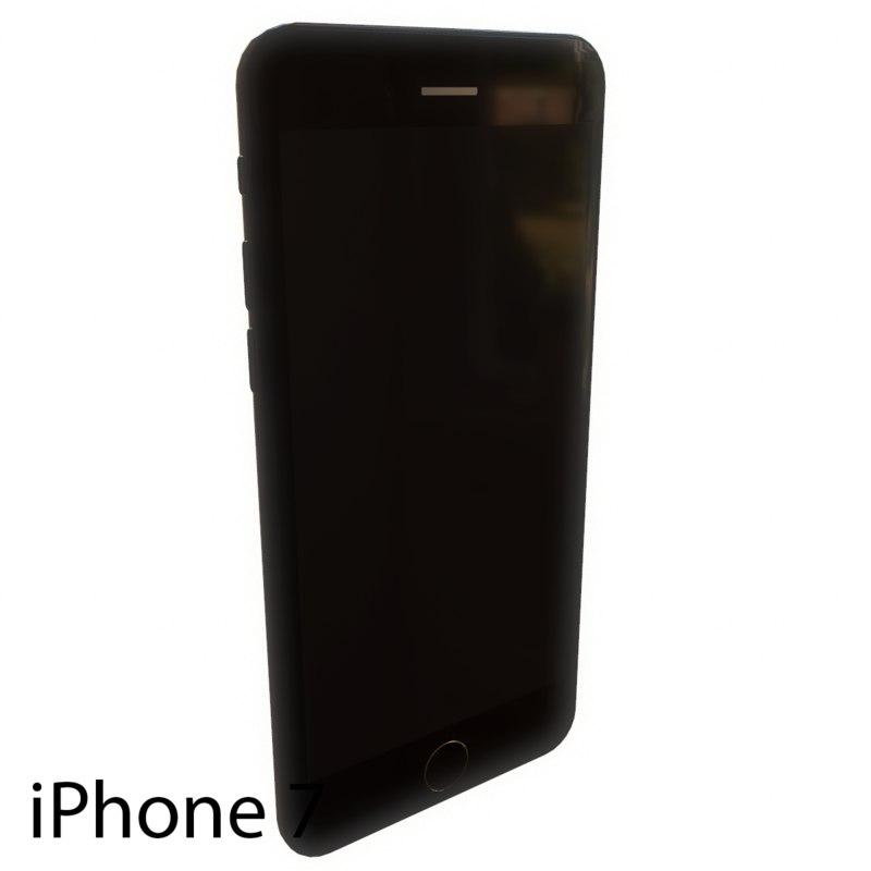 iphone 7 3d fbx