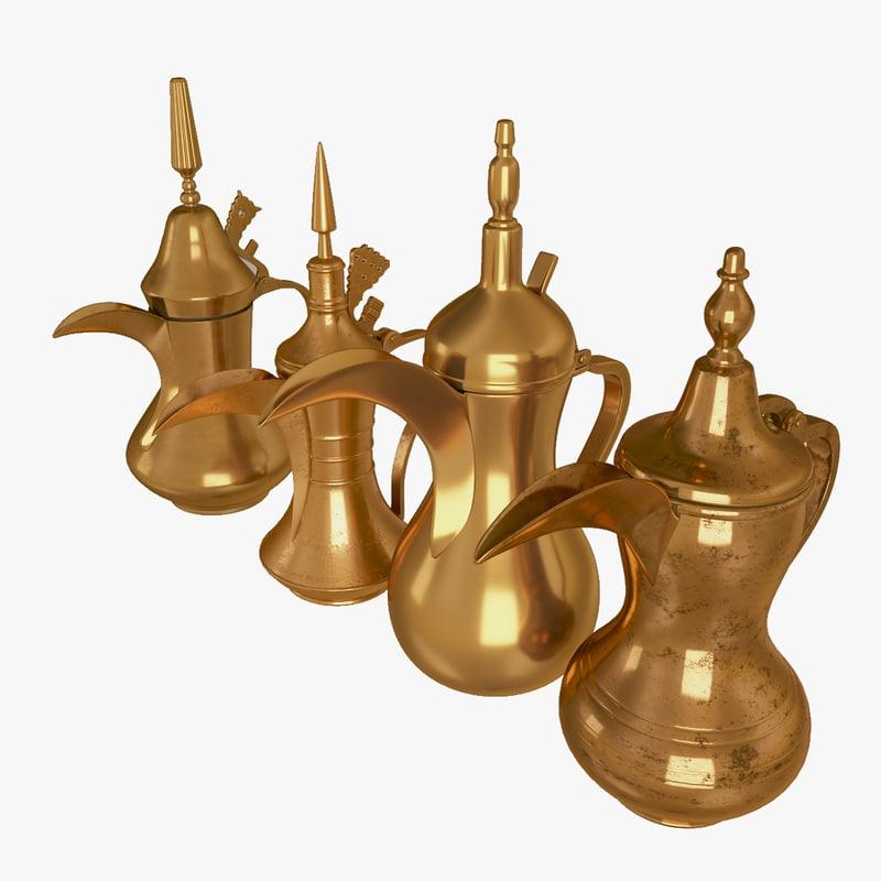 x arabic teapot