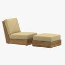 Poolside Terrace Chair