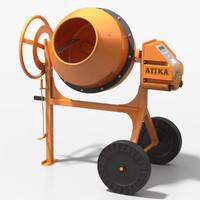 atika concrete mixer max