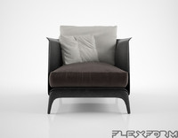 3d flexform isabel armchair
