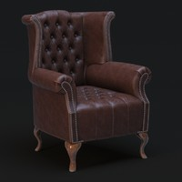 3d anne chesterfield queen
