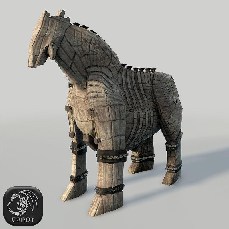 troyan horse 3d 3ds