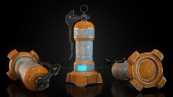 sci-fi texturing rendering c4d