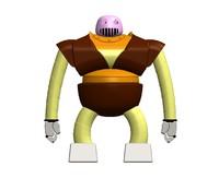 3d model boss robot