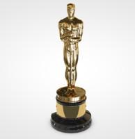 oscars award 3d c4d