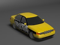 3ds lada 2110 amateur rally car