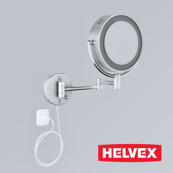 helvex mirror es-002 3d max