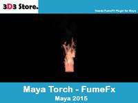 3d torch fumefx model