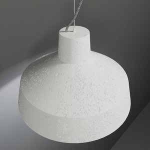 3d model lamp gypsum